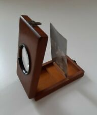 Grafoscopio stereoscopio Vittoriano. Antique Victorian Graphoscope viewer