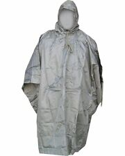 US Army Style Olive Green Waterproof Hooded Ripstop Combat Military Poncho