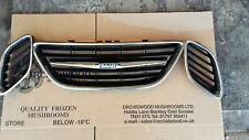 Saab 9-3 (93) front  bumper grill 2003-2007