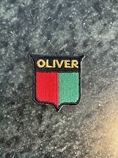 "Oliver Farm Machinery Tractor Patch Iron On 1"" Rare Logo Vtg Finest Hat"