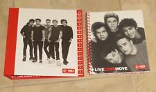 "One Direction Group Against Bullying 1"" 3-Ring Binder And Spiral Notebook Set"