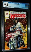 ETERNAL WARRIOR #4 1992 Valiant Comics CGC 9.4 NM
