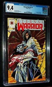 ETERNAL WARRIOR #4 1992 Valiant Comics CGC 9.4 NM !