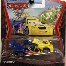 NEW Disney Pixar Cars 2 Frosty Super Chase Blue Genuine Sealed Mark Winterbottom