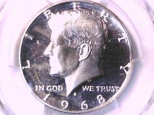 1968 S Proof Kennedy Half Dollar PCGS PR 68 DCAM 35377139