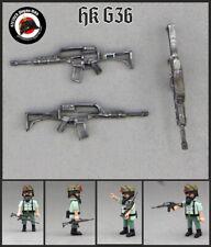 1x HK G36 FUSIL D ASALTO PLAYMOBIL POLICIA SWAT LEGION F ESPECIALES EJERCITO GEO