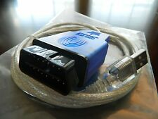 Sale VAG-COM Cable USB Scanner Tool VW OBD 2 FTDI 409.1 For Audi Ross Tech BMW
