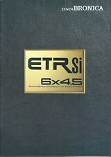 Camera Brochure - Zenza Bronica - ETRSi - c1990's  (CB200)