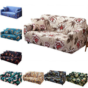 1 2 3 4 Seater Stretch Sofa Cover Slipcover Couch Loose Cover Elastic Removable