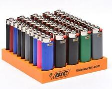 50 Brand New Big Bic Lighters Full Size Asstored Colors Super Sale! Amazing Deal