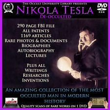 Nikola Tesla Books ebooks Rare images FBI Files Letters Articles .
