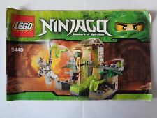 LEGO Instruction Notice NINJAGO Venomari Shrine (9440)