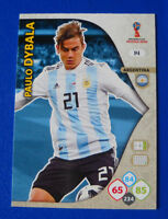CARD PANINI ADRENALYN WC WORLD CUP RUSSIA 2018 - N.14 - DYBALA - ARGENTINA