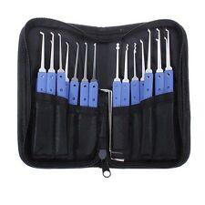 18 in 1 Stainless Steel Lock Pick Set Locksmith Tools