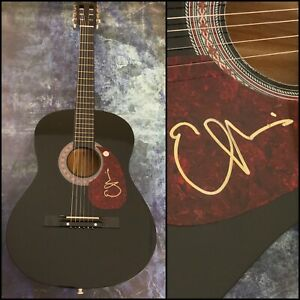 GFA Two More Bottles of Wine EMMYLOU HARRIS Signed Acoustic Guitar E1 COA