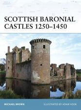 Fortress: Scottish Baronial Castles 1250-1450 82 by Michael Brown (2009, Paperb…
