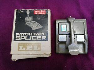LPL Patch Tape Splicer Regular 8mm + Super 8 - With Original Box