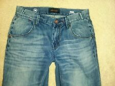 """MEK DNM VOLOS Relaxed Bootcut Embroidered Flap Pocket Men Jean #M1VOLOB4 S30X32"""""""