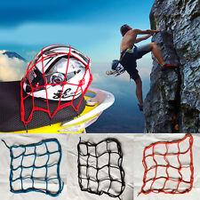 1Pc Red Motorcycle Accessory Net Luggage Tuck String Bag Bike Helmet Mesh New