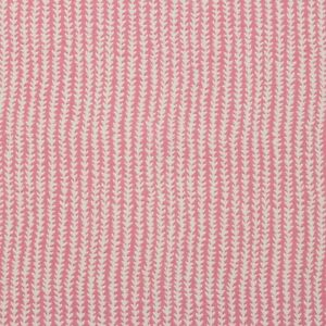 """P KAUFMANN DOODLE CANDY FLOSS PINK GEOMETRIC VINE COTTON FABRIC BY YARD 54""""W"""