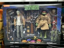 NECA Teenage Mutant Ninja Turtles Casey Jones & Raphael Figures