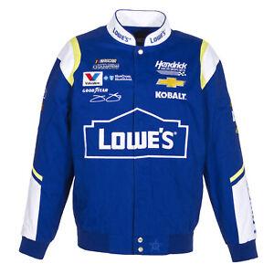 Jimmie Johnson Cotton Jacket New JH Design new Royal