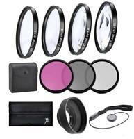 67mm Macro Close-up & Filter Kit For Nikon DSLR Camera with 18-140mm ED VR Lens