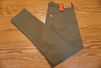 NWT WOMEN'S LEVI JEANS PANTS 311 Multiple Sizes Shaping Skinny Mid Rise Olive