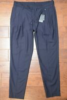 Armani Exchange A|X Men's Navy Blue Polyester/Wool Casual Trousers Pants 31