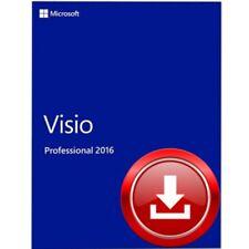 Microsoft Visio 2016 Professional 1 PC - WINDOWS - ESD Vollversion / Kein Abo