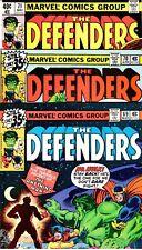 DEFENDERS #69 #70 #71  -   All VF (8.0)   LUNATIK Stories!  Busiek Letter!  1979