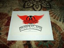 Aerosmith Pandora's Bos US Promo Only Stickers