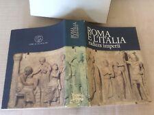 LIBRO COLLANA ANTICA MADRE ARTE STORIA ROMA E L' ITALIA - CREDITO ITALIANO 1990