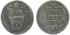 *TRIU* ROMA Clemente XI 1700-1721 1/2 GROSSO in argento