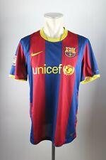 FC Barcelona Trikot Gr. L Nike Jersey 2010-2011 Home FCB Unicef Shirt