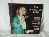 "LULU - THE WORLD OF LULU - 12"" VINYL LP (PAULS)"