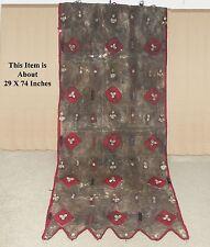 African Dogon Mali Hunter Tunic Vest Tassles Amulets Kuba Cloths Textile Fabric