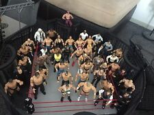 wwe toys bulk Lot (Elimination Chamber and Cage Ring, 45 Figures and Accessorie