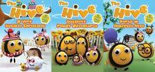 THE HIVE Lot of 3 New DVD Buzzbee Christmas Family Adventures Honeybee Hive