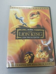 Disney's: The Lion King (2-Disc DVD Special Edition/Platinum Edition) Free Ship!