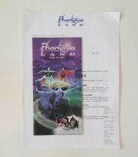 Freizeitpark - Phantasialand - Prospektmaterial - 2004