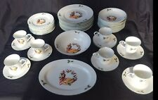 Christmas Dishes, Memories Vintage China Fine Porcelain 41 pieces Holiday Dishes
