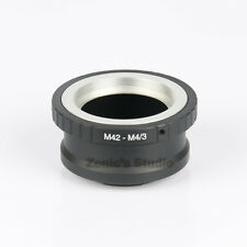 M42-M4/3 Mount Lens Adapter For M42 Screw Lens to Micro 4/3 E-P1 E-PL2 DMC-G10