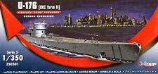 U-boot u 176 type ix c turm ii-ww ii sous-marin allemand 1/350 mirage rare