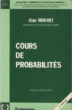 Cours de Probabilités - Alain Monfort - Philippe Tassi SONDAGES ECONOMETRIE