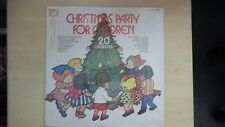 CHRISTMAS PARTY FOR CHILDREN Yulesong Records LP 60s