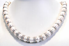 "Honora Silver White Cultured Fresh Pearl Graduated Sterling 20""Long Necklace"