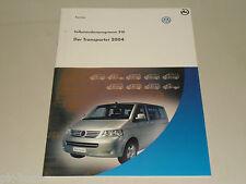 SSP 310 VW Selbststudienprogramm Service Training Der Transporter 2004 T5