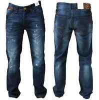 Mens New Jack South Designer Regular Fit Pants Blue Colour  32 TO 34 In Denim