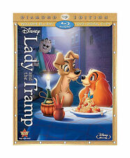 Lady and the Tramp Blu-Ray + DVD Diamond Edition w / slipcover / Complete